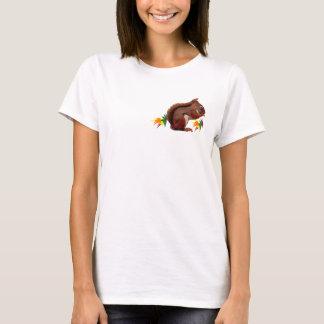 Red Squirrel in Autumn T-Shirt