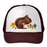 Red Squirrel in Autumn Trucker Hat