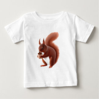 Red Squirrel Infant T-Shirt
