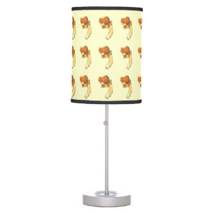 Red Squirrel Lamp