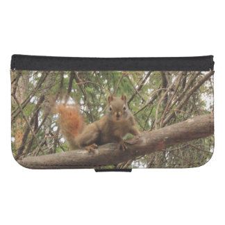 Red Squirrel Phone Wallet