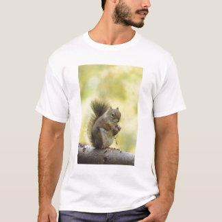 Red Squirrel, Pine Squirrel, Tamiasciurus T-Shirt