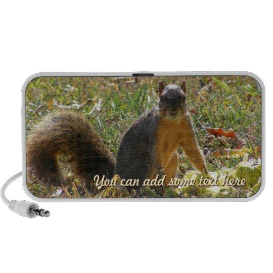 Red Squirrel Speaker