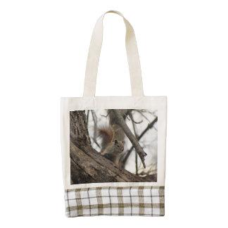 Red Squirrel Zazzle HEART Tote Bag
