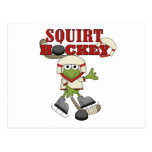 Red Squirt Hockey Tshirts and Gifts Postcard