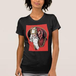 Red St Nicholas Krampus T-Shirt