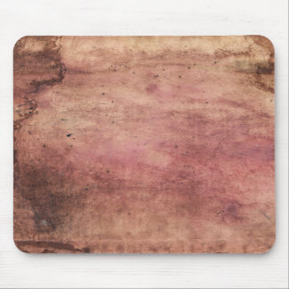 Red stained & scuffed, grunge & dirty blood stains mouse pad