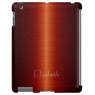 Red Stainless Steel Metal