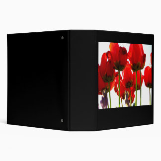 Red Stand Binder