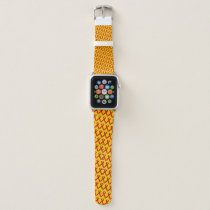 Red Standard Ribbon by Kenneth Yoncich Apple Watch Band