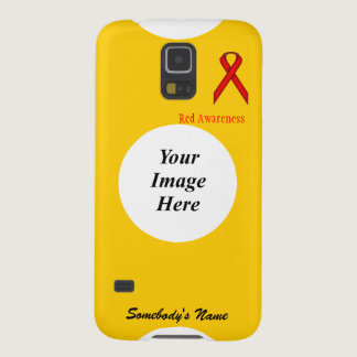 Red Standard Ribbon by Kenneth Yoncich Galaxy S5 Case