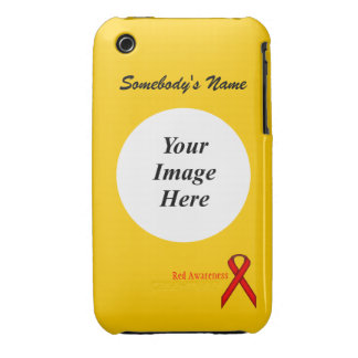 Red Standard Ribbon by Kenneth Yoncich iPhone 3 Case-Mate Case