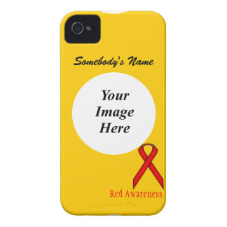Red Standard Ribbon by Kenneth Yoncich iPhone 4 Case