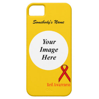 Red Standard Ribbon by Kenneth Yoncich iPhone SE/5/5s Case