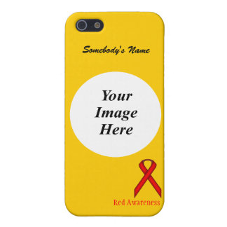 Red Standard Ribbon by Kenneth Yoncich iPhone SE/5/5s Cover