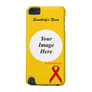 Red Standard Ribbon by Kenneth Yoncich iPod Touch 5G Case