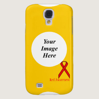 Red Standard Ribbon by Kenneth Yoncich Samsung S4 Case
