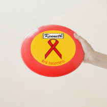 Red Standard Ribbon by Kenneth Yoncich Wham-O Frisbee