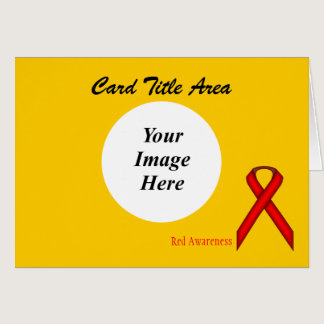 Red Standard Ribbon Template