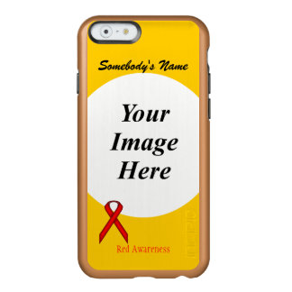 Red Standard Ribbon Template Incipio Feather® Shine iPhone 6 Case
