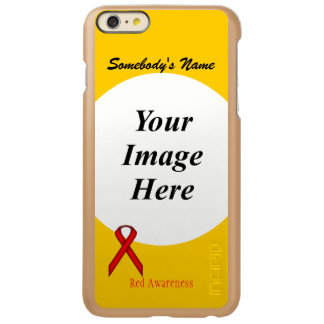 Red Standard Ribbon Template Incipio Feather® Shine iPhone 6 Plus Case
