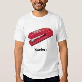 red stapler 2, Staplers - Customized T-shirt