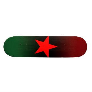 Red star 1 skateboard
