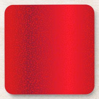 Red Star Background Drink Coaster