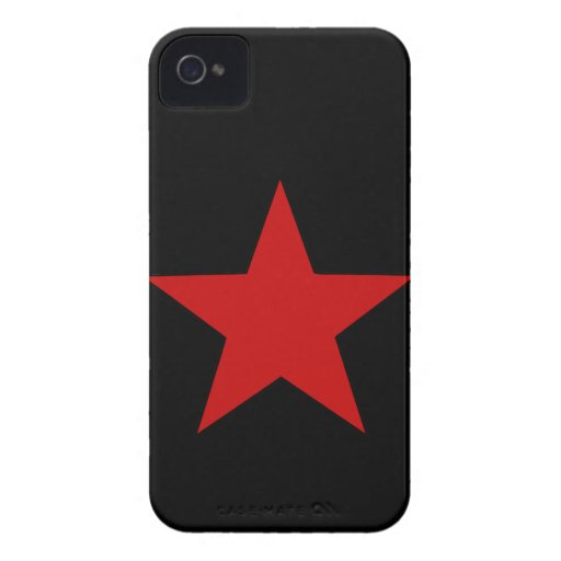 Red Star iPhone 4 Case