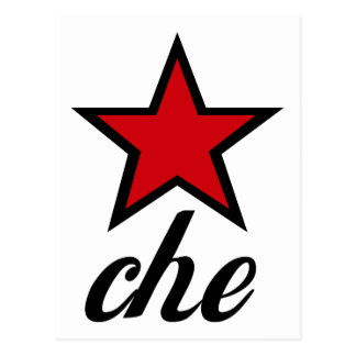 Red Star Che Guevara Postcards