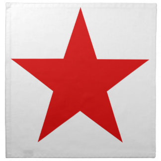 Red Star ★ Cloth Napkin