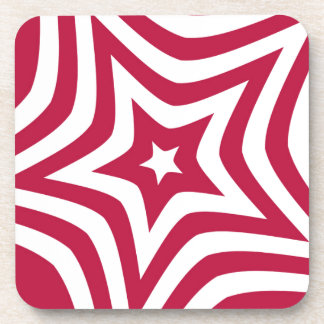 Red Star Beverage Coasters