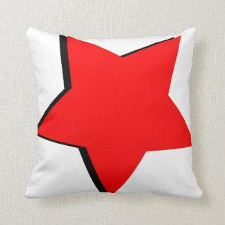 Red Star Cushion