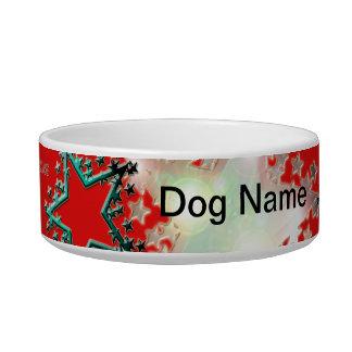 Red Star Dog Bowl