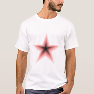 Red Star In T-Shirt