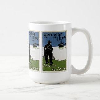 Red Star Line Mugs