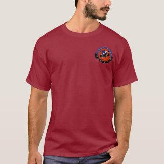 Red Star Lone Star Men's Maroon T-Shirt