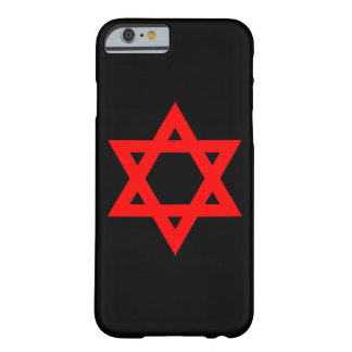 Red Star of David Barely There iPhone 6 Case