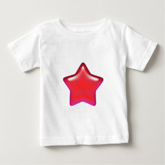 Red Star of Love Infant T-Shirt