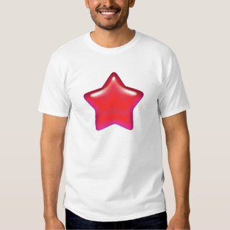 Red Star of Love Tee Shirt