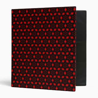 Red star pattern binder