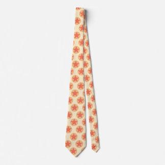 Red Star Pattern by storeman Tie