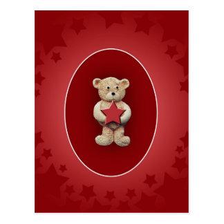 Red Star Postcard