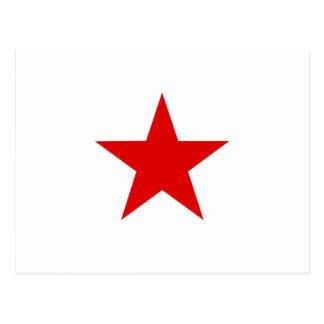 Red Star ★ Postcard