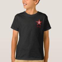 Red Star 'Star' pocket design kids t -shirt T-Shirt
