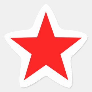 Red Star Sticker