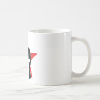 red star storm mask coffee mug