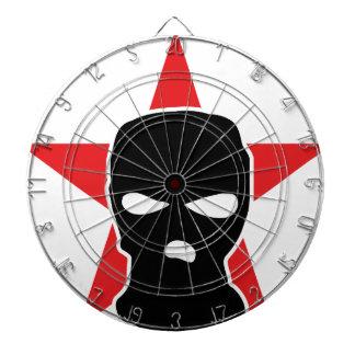 red star storm mask dart board