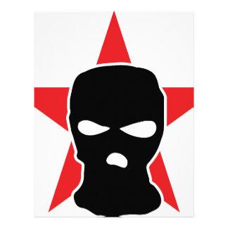 red star storm mask letterhead