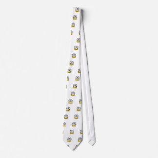 red star tesla neck tie